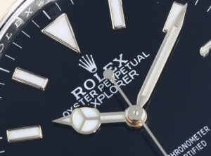 Replique Rolex Explorer Oystersteel Et Or Jaune Montres M124273-0001-02