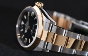 Replique Rolex Explorer Oystersteel Et Or Jaune Montres M124273-0001-03